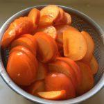柿を大量に買い込んだので…